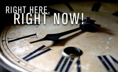 Tijd is NU - Eternity