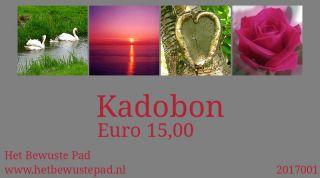 Kadobon vanaf Euro 5,00