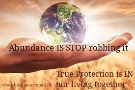 Protection is IN our living togetherness