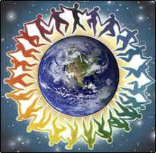 Normal Living Together on Earth in Circles means no hierarchy